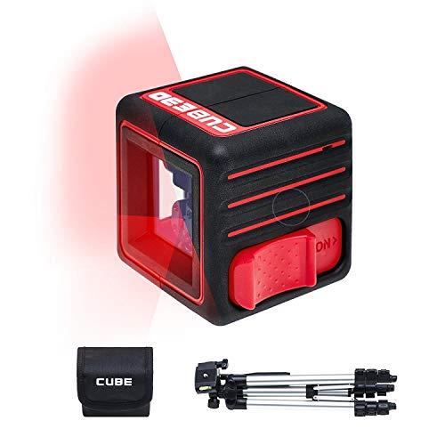 ADA Cube 3D Edición Profesional - Nivel láser con modo autonivelante con...