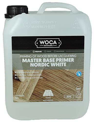 WOCA - Base de suelo de madera, color blanco
