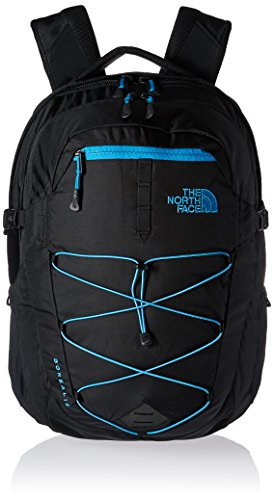 The North Face Borealis, Zaino Unisex, Nero/Blu, Taglia Unica
