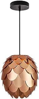 Modern Chandeliers Ceiling Lights Pendant E27 Artichoke Layered Ceiling Pendant Light Shades Lighting Rose Gold 3C ce Fcc Rohs for Living Room Bedroom