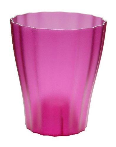 Terra Kunststoff Orchideenvase, Violett, 13 cm