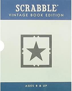 Scrabble Vintage Book Edition
