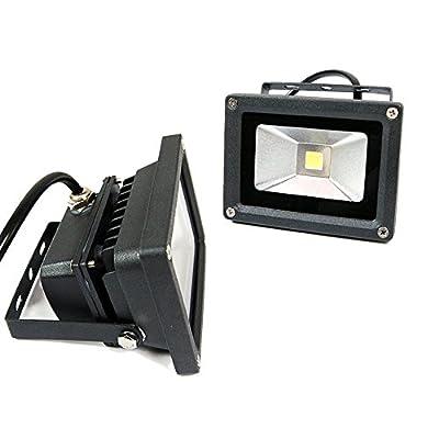 eTopLighting 10 Watt LED Security Flood Light 12V Warm White Lamp Outdoor Garden Landscape Lighting Fixture 10W