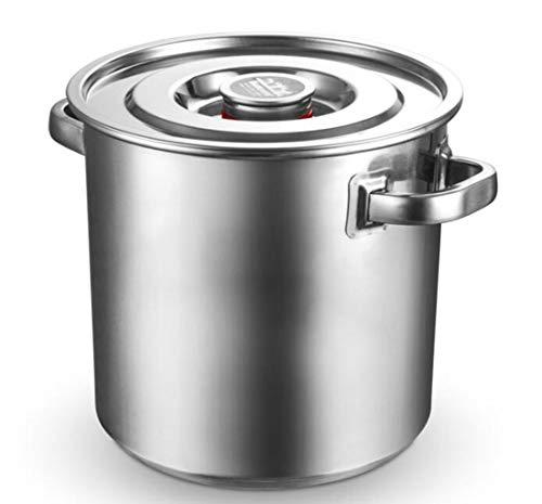 JSHFD Catering Heißwasserkessel Tee Urnenspender Mit Zapfen for Heißwassermilch Tee Kaffee Saft Home Party Use Kommerzielle Büronutzung Küche Kochen (Color : Silver, Size : 32cm)