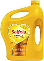 Saffola Total, Pro Heart Conscious Cooking Oil, Helps Manage Cholesterol, 5 L Jar