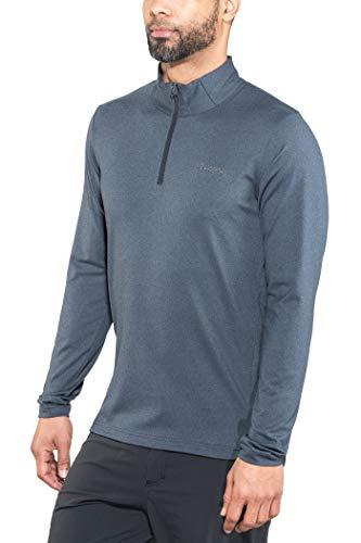 Bergans Stranda Half Zip Hommes T-Shirt à Manches Longues Fonctionnel XL Bleu XL
