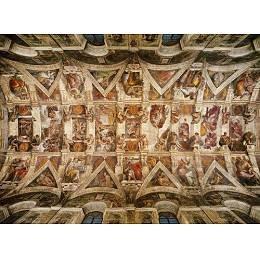 Clementoni 3000 Piece Puzzle - Michelangelo The Sistine Chapel Ceiling