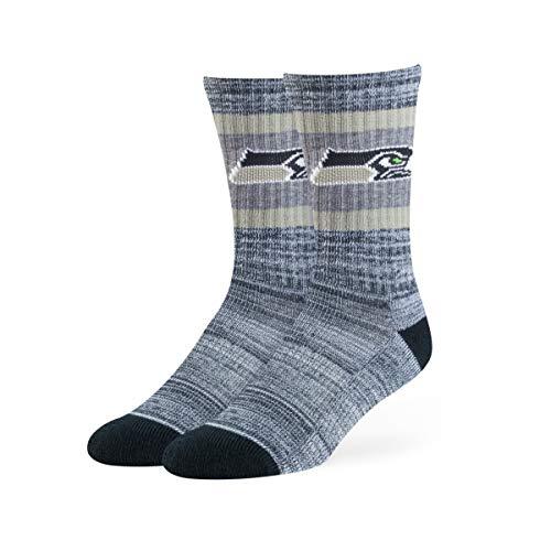 OTS NFL Seattle Seahawks Rigby Sport-Socken, Größe L, Marineblau
