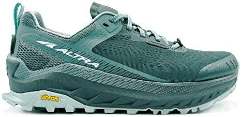 ALTRA Women's AL0A4VQW Olympus 4 Trail Running Shoe, Balsam Green - 5.5 M US