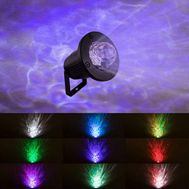 LED-bunte Wasser-Licht-Rasen-Ozean-Wasser-Muster-Lampe im Freien führte Stadiums-Projektions-Lampe