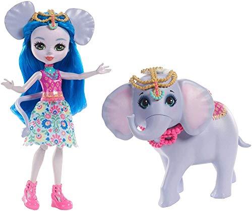 Enchantimals Muñeca Ekaterina elephant con mascota (Mattel FKY73) ,...