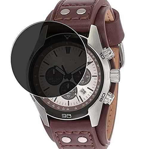 Vaxson Protector de Pantalla de Privacidad, compatible con Fossil Coachman CH2564 CH2891 CH2565 watch [no vidrio templado] TPU Película Protectora Anti Espía