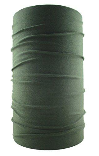 HeadLOOP Multifunktionstuch Schal Halstuch Kopftuch Microfaser (Oliv)