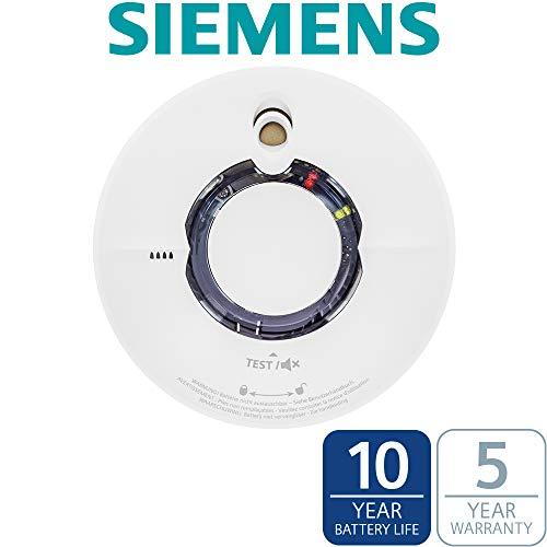 SIEMENS - 5TC12924 Funkrauchwarnmelder Delta Reflex Wi-Safe 2 mit Funkmodul