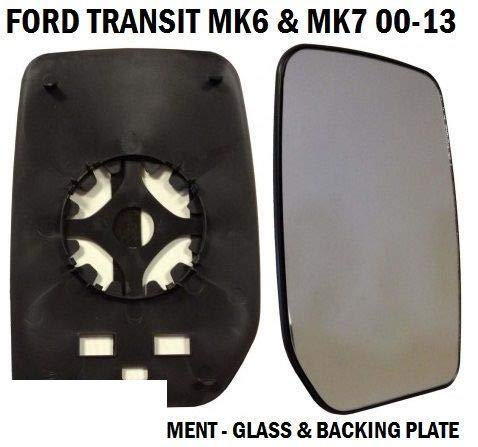 Transit Onderdelen Voordeur Wing Spiegel Glas Transit MK6 MK7 2000-2014 Drivers Rechts