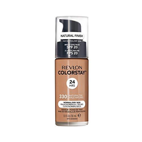 REVLON ColorStay Liquid Foundation For Normal/dry Skin, SPF 20, Natural Tan, 1 Fl Oz