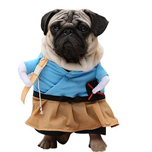 TUOTANG Cosplay Costumi Forniture per Animali Domestici Vestiti da Cane Costume Pirata Trasfigurazione di Guitar Costume Divertente,Color 8,Large