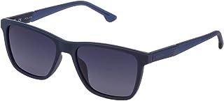 Police - SPL86855477P Gafas de sol, Matt blue, Standard Unisex Adulto