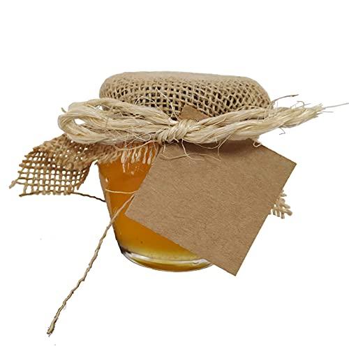 Pack tarros de miel de 125g BEHONEY modelo BOL para evento, boda, bautizo, comunión, celebración (10)