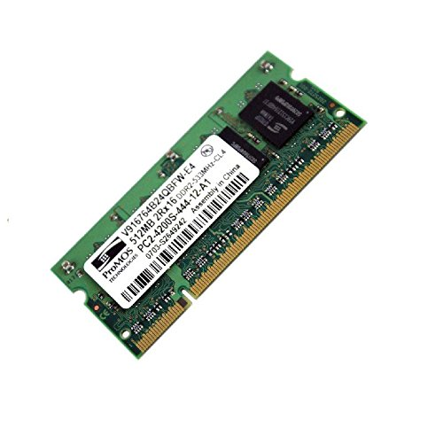 512MB Ram Laptop SODIMM Sonderangeboten v916764b24qbfw-e4DDR2PC2–4200S 533MHz CL4