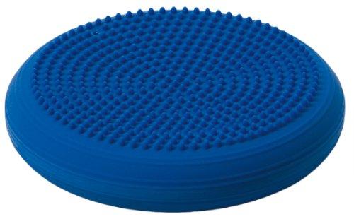 Togu Balancekissen Dynair Ballkissen Senso 33 cm, Sitzkissen mit Noppen (blau)