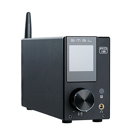 SMSL AD18 80W2 Bluetooth 4.2 HiFi USB DSP Digital Decoding Power Amplifier