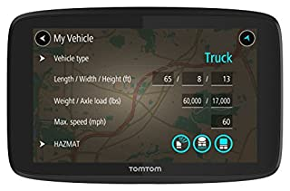 TomTom Trucker 620 6-Inch GPS Navigation Device for Trucks with Wi-Fi Connectivity, Smartphone Services, and Free Lifetime Traffic and Maps of North America (B079KNLDVZ)   Amazon price tracker / tracking, Amazon price history charts, Amazon price watches, Amazon price drop alerts
