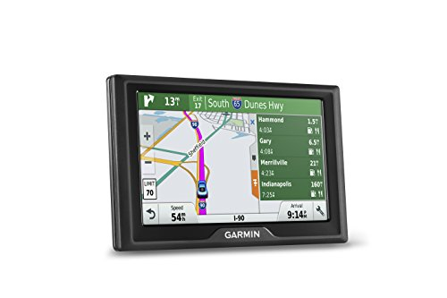 Garmin Drive 50 USA + CAN LMT GPS Navigator System with Lifetime Maps and Traffic, Driver Alerts, Direct Access, and Foursquare data