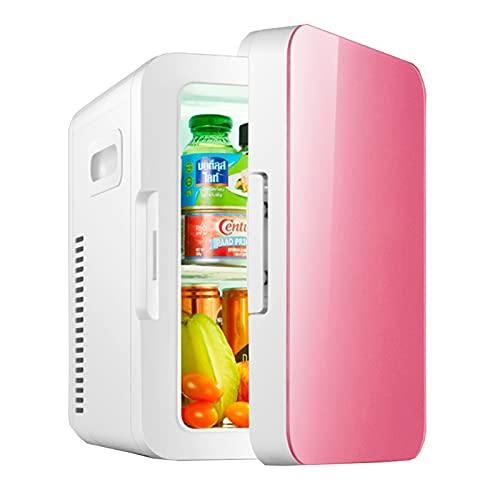 Flower stand Mini Refrigerador20 L, Mini Refrigerador Silencioso De 12v / 220v, Nevera Eléctrico Portátil De Frío/Calor para Automóvil Viajes Medicina Cuidado De La Piel Warmfunn 26 * 19 * 29cm
