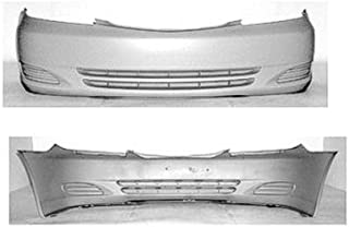 CPP Primed Front Bumper Cover Replacement for 2002-2004 Toyota Camry