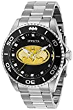 Invicta Men's DC Comics Quartz Watch with Stainless Steel Strap, Silver, 22 (Model: 29696)