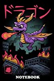 Notebook: Spyro The Dragon Wrecking Havoc In The City , Journal for Writing, College Ruled Size 6' x 9', 110 Pages