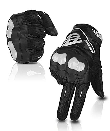 Motorbike Gloves Full Finger Durable for Road Racing Bike Summer...