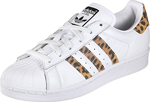 Adidas Damen OG Superstar Sneakers Weiß, 36 2/3 EU