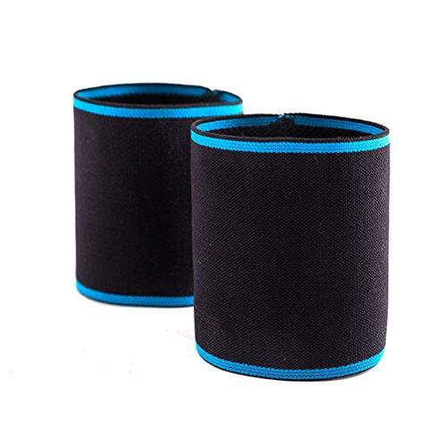 LIOOBO Fußbandagen Kompressions Stützhülsen Mittelfuß Bandagen für Hohlfüße Plantarfasziitis Plattfüße Senkfuß Größe M 1 Paar (Schwarz)