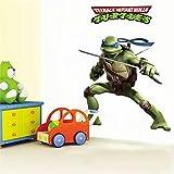 CVG Tortugas Ninjas Mutantes Adolescentes calcomanías caseras DIY Pegatinas Decorativas Dormitorio de los niños extraíble película de Dibujos Animados Mural Art Posters