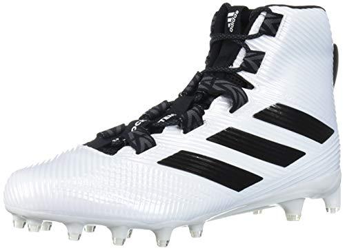 adidas Herren Freak Carbon High Fußballschuh, Weiá (White/Black/Grey), 47.5 EU