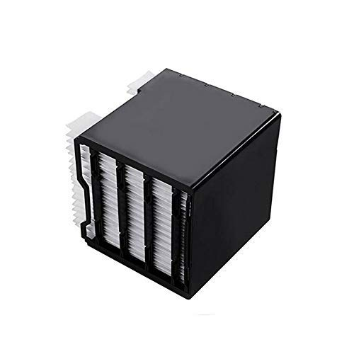 Filtro refrigerador de aire, filtro de repuesto de aire, filtro de repuesto para Arctic Air Personal Space Cooler, repuesto especial para Arctic USB Air Cooler Filter (negro)