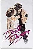 Sunsightly Pintura En Lienzo Dirty Dancing Classic Old Movie Poster Pinturas Abstractas En Lienzo, Carteles Y Artes Decorativas Decoración de la Pared de la Sala De Estar - Sin Marco