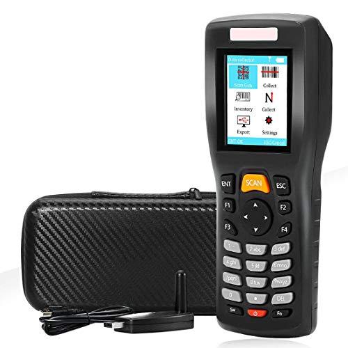Xyfw Wireless Barcode Scanner 1D Bar Code Reader Handheld Inventory Counter Data Collector Bar Code Scanners