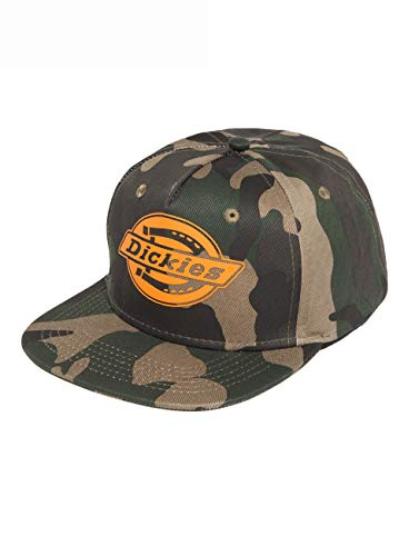 Dickies Oakland Casquette de Baseball, Multicolore/Camouflage-Orange, Taille Unique Mixte