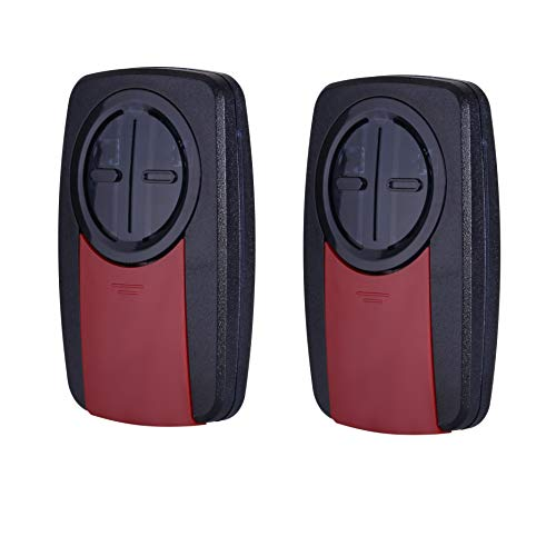 Alisontech 375UT Universal Remote for Liftmaster/Chamberlain/Sears Craftsman/Linear/Genie/Wayne Dalton Garage Door Openers(2Pack)