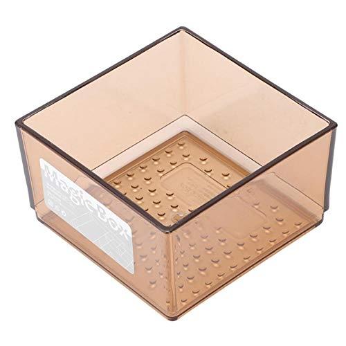 Caja gruesa a prueba de fugas del gabinete de almacenamiento del organizador del cajón firme para la cocina para el restaurante(Coffee trumpet)
