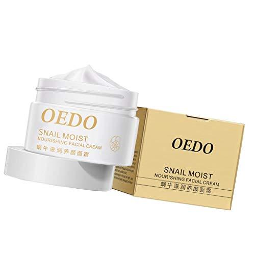 #N/a Crema Hidratante de Caracol para Mujer, Esencia Blanqueadora, Crema Facial, Suavizante