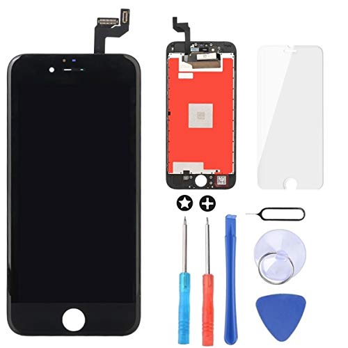 Brinonac Für iPhone 6S Plus Display LCD Touchscreen Digitizer Ersatz Bildschirm Front Komplettes Glas mit Werkzeug und Display Schutzfolie (5,5