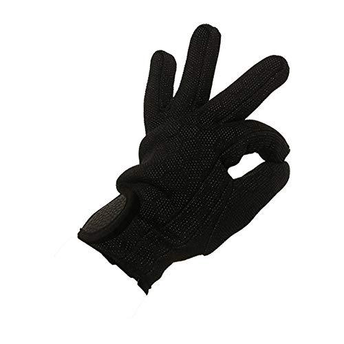 Taucherhandschuhe, rutschfeste warme Tauchhandschuhe, geeignet für Wassersport (M,schwarz)