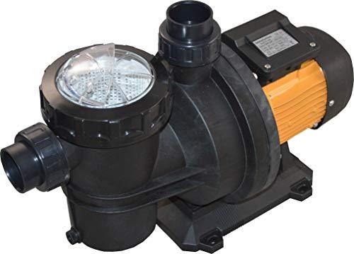 SPIRATO Poolpumpe Schwimmbad Filterpumpe mit Vorfilter FCP-750S