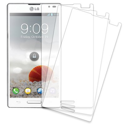 MPERO , 3 pack of lámina Protector de Pantalla for LG Optimus L9 P760 emergencia Compatible with T-MOBILE P769