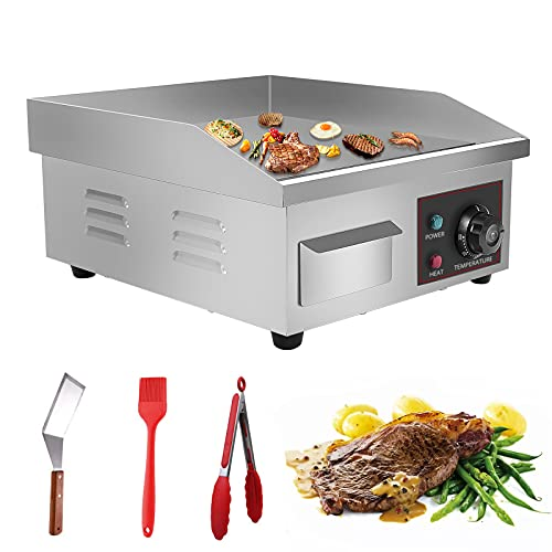 Panghuhu88 14' Countertop Griddle Grill 110V Electric Commercial...