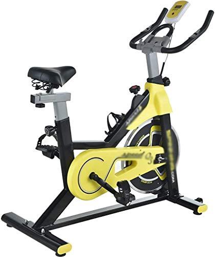 Máquinas de step Bicicletas de ejercicio de bicicleta de ejercicios Bicicleta elíptica Gimnasio en casa bicicletas ultra silencioso con pulso Sensores Infinito Resistencia manillar y asiento cómodo de